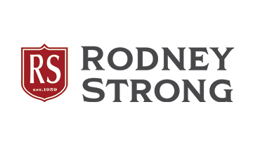 Rodney Strong Logo with Shield - Colour